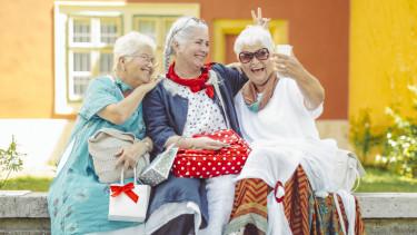 nyugdíjas nő getty stock
