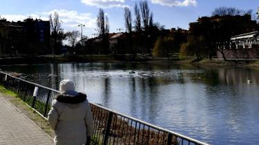 nyugdíjas séta