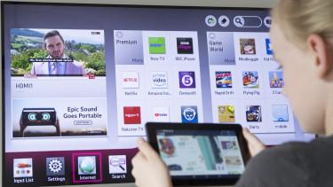 okostévé tablet televízió