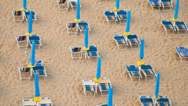 olasz tengerpart strand