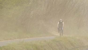 önkormányzat vihar biciklis