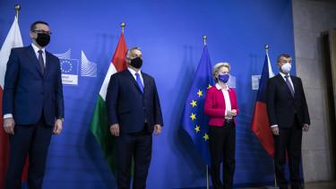 orbán leyen babis brüsszel mti