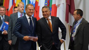 Orban Viktor Donald Tusk Europai Neppart tagsag