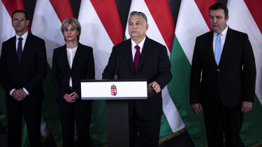 orbán viktor gazdaságvédelmi akcióterv varga bártfai-mager palkovics