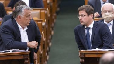 orbán viktor gulyás gergely parlament