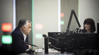 orbán viktor kossuth rádió interjú építőipar korlátozás kiviteli tilalom