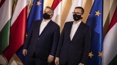Orban Viktor Mateusz Morawiecki lengyel zavar veto unios koltsegvetes 201204