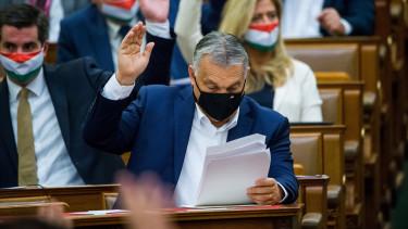 orbán viktor parlament járvány koronavírus rendkívüli jogrend