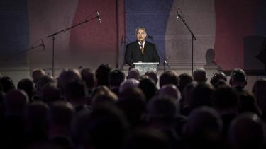 Orbán Viktor Prága