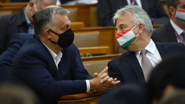 orbán viktor semjén zsolt parlament fidesz járvány