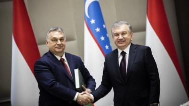 Orban Viktor uzbegisztan