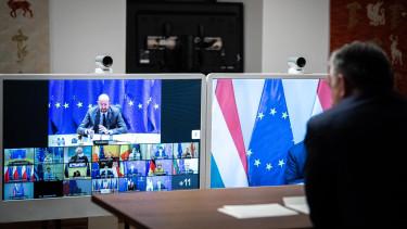 orbán viktor vakcina videókonferencia eu-csúcs
