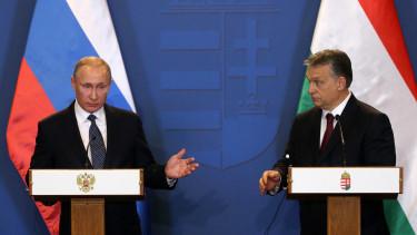 Orbán Viktor Vlagyimir Putyin
