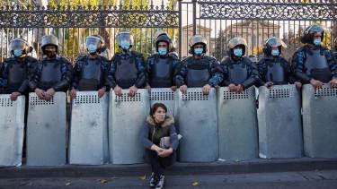 örmény tüntetés