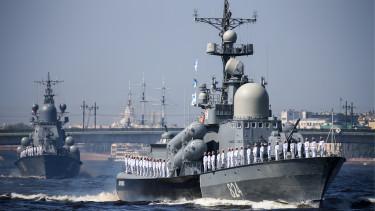 orosz hadihajók
