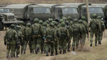 orosz katonak