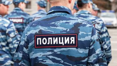 orosz rendőrség omon oroszország