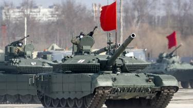 orosz tankok