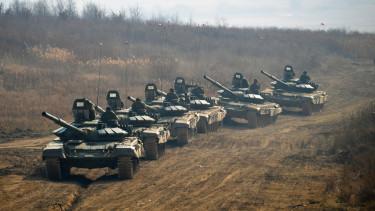 orosz tankok ukrajna