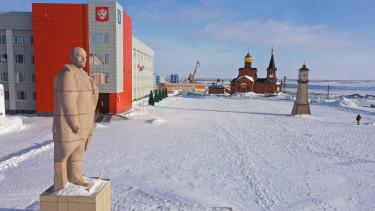 Oroszország permafroszt olvadás klímaváltozás