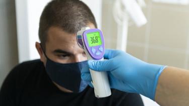 orvos hőmérséklet járvány