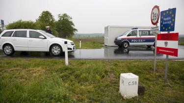 osztrák határ átkelő járvány határzár