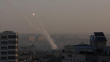 palesztin rakéta izrael