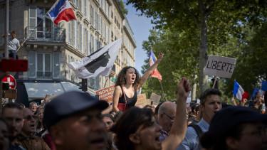 párizs tüntetés