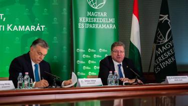 Parragh László MKIK Orbán Viktor
