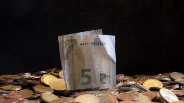 pénz, euró