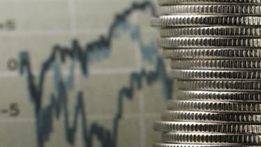 pénz grafikon torony érme