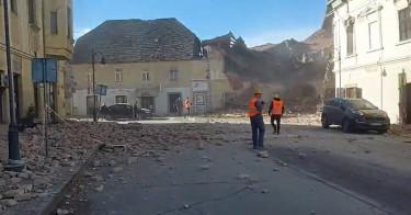 petrinja földrengés horvátország