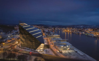 Porsgrunn - Norvégia - Powerhouse Telemark
