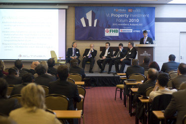 Property Investment Forum konferencia 2010