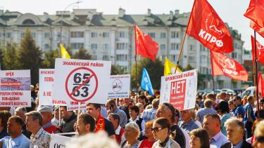 Putyin aláírta: emelik az orosz nyugdíjkorhatárt