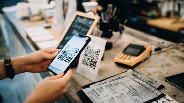 qr-kód bankkártya fizetés