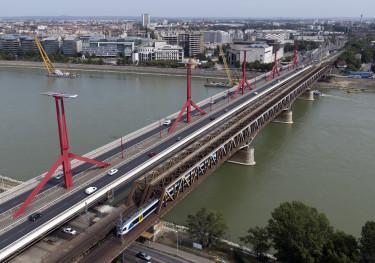 rákóczi híd, déli összekötő vasúti híd