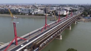 rákóczi híd, duna, déli összekötő vasúti híd,