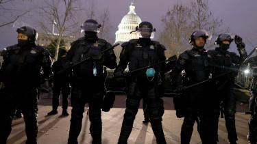 rendőr usa capitolium