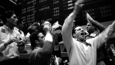 részvény tőzsde getty stock
