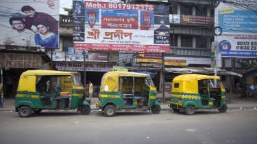 riksa autó india getty stock