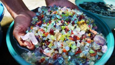 Ritka gyémántot találtak Afrikában