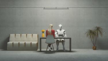 robot iroda interjú