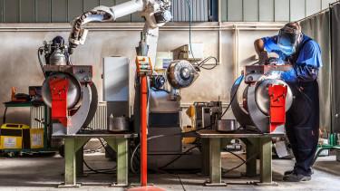 robot munkások shutter