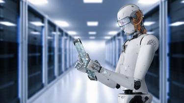 robot olvaso shutter