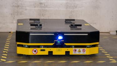 robottargonca a borgwagner gyárában