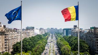 románia bukarest zászló