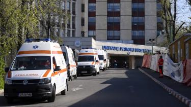románia koronavírus mentő