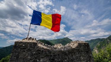 románia zászló shutter