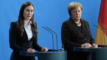 Sanna Marin Angela Merkel unios koltsegevetes nemetorszag finnorszag